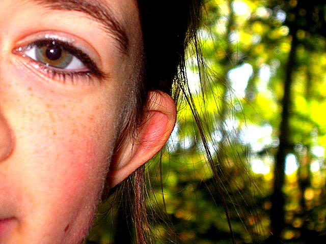 Areli's eye